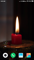 Candle Light  Wallpaper HD APK screenshot thumbnail 5
