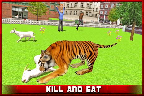 Angry Tiger in Crazy City screenshot
