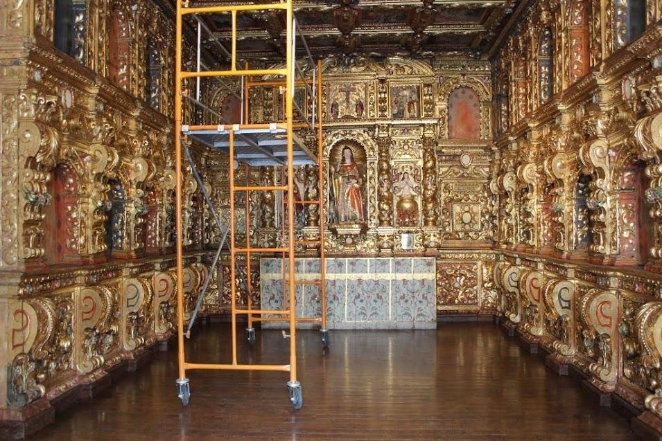 Restauro da Capela de São João Evangelista concluído - Museu de Lamego
