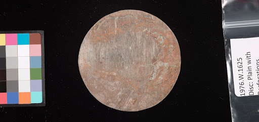 Disc: plain with perforations