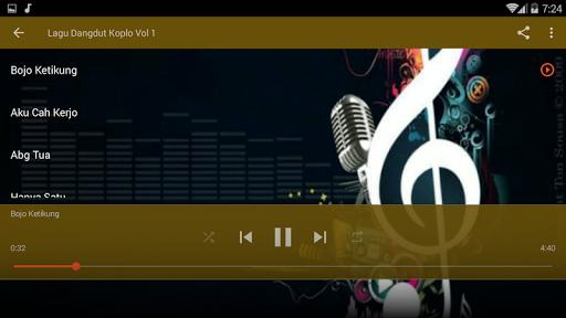 لقطات شاشة Lagu Dangdut Koplo Terbaru 8