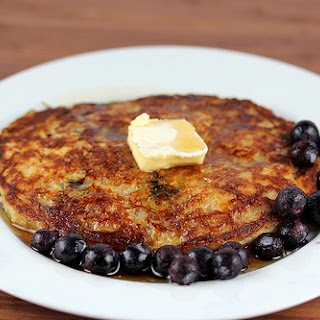 Blueberry Oatmeal Pancakes Recipe