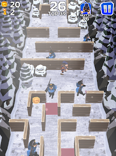 Winter Fugitives: stealth game- screenshot thumbnail