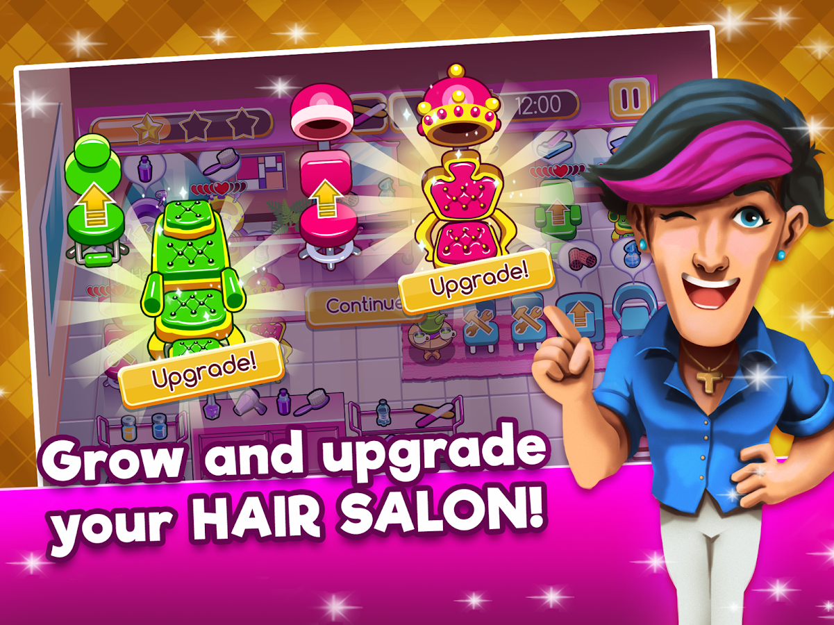 Top Beauty Salon -  Hair and Makeup Parlor Game- screenshot