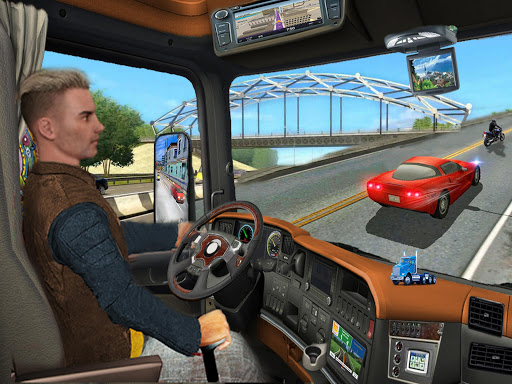 In Truck Driving Games : Highway Roads and Tracks 1.1.1 screenshots 7