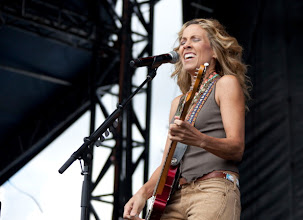 Photo: BOWMANVILLE, ON - AUGUST 11:  Sheryl Crow performs at the Boots and Hearts Festival on August 11, 2012 in Bowmanville, Canada.  (Photo by Scott Legato/Getty Images)