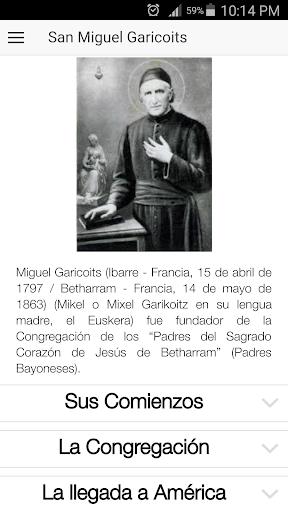 Frases de San Miguel Garicoits 0.0.1 screenshots 5