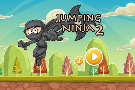 JUMPING NINJA 2 screenshot 14