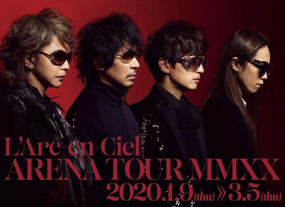 [迷迷音樂] L'Arc-en-Ciel 睽違8年再度巡演!全日本5大城市共計12場演出!