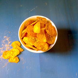 Pumpkin Pie Spiced Sweet Potato Chips