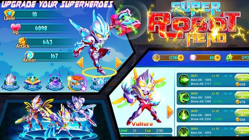 Superhero Robot: City Wars - RPG Offline Game cheat screenshots 2