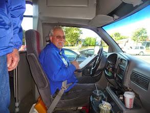 Photo: Bus driver