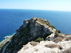 Photo: Το ακραίο ύψωμα της Φιλάγρας.