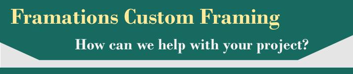 Custom Framimg