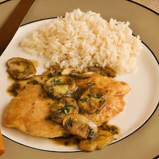 Chicken or Veal Marsala.