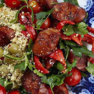 Spiced Chorizo with Couscous