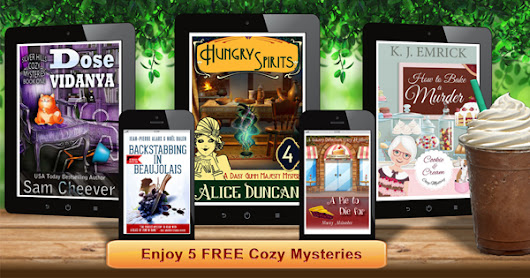 FREE Cozy Mysteries | Offer Ends Friday