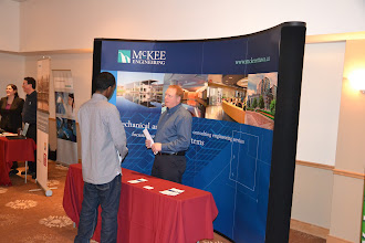 Photo: 2013 Career Fair - McKee Engineering