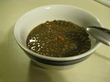 Easy, delicious Lentil Soup