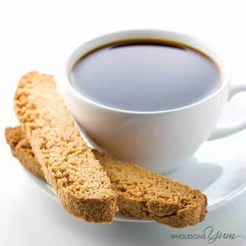 Low Carb Almond Flour Biscotti (Paleo, Sugar-free)