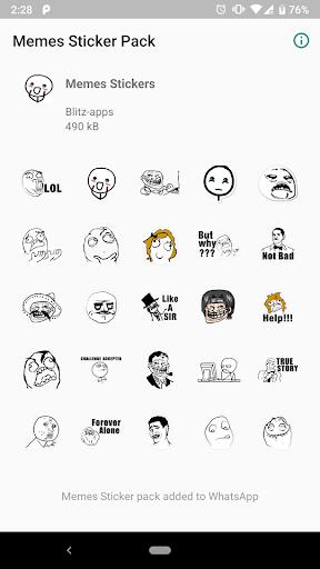 Memes Stickers for Whatsapp  screenshots 2