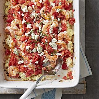 Shrimp and Cauliflower Bake Recipe