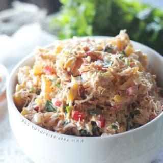 Barbecue Chicken Salad {Paleo + Whole30 Compliant}.
