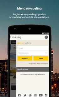 Vueling - Vols barats: miniatura de la captura de pantalla