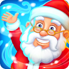 Farm Snow: Happy Christmas Story With Toys & Santa icon