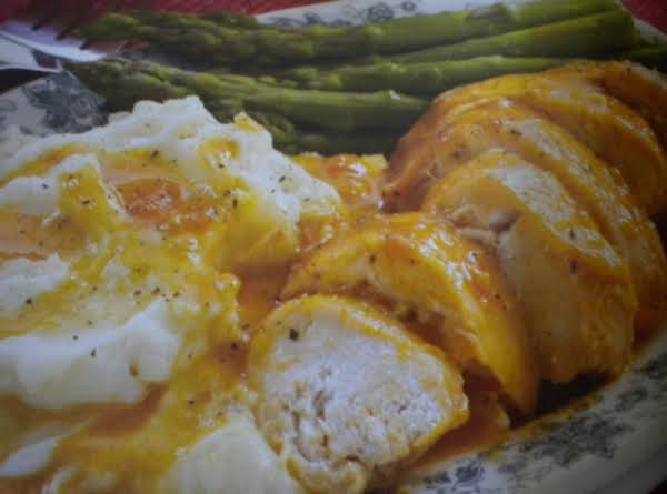 Slow Cooker Creamy Apricot Chicken Recipe