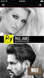 PaulJamesHair - náhled