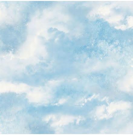 Fantasia Glittrande himmelsk galax tapet från Arthouse - Ljusblå 902004