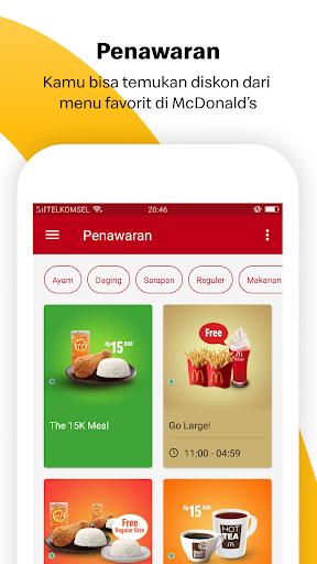 Aplikasi McDonald's