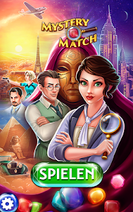 Mystery Match - Puzzle-Abenteuer Match 3 Screenshot