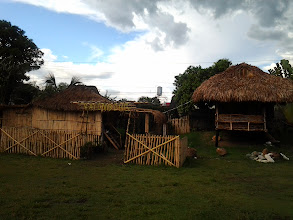Photo: One bahay-kubo to symbolize each town of Nueva Vizcaya.