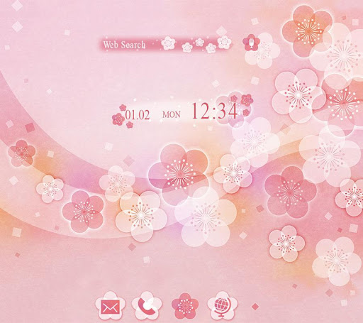 pink Theme Japanese Floral 1.0.0 Windows u7528 1