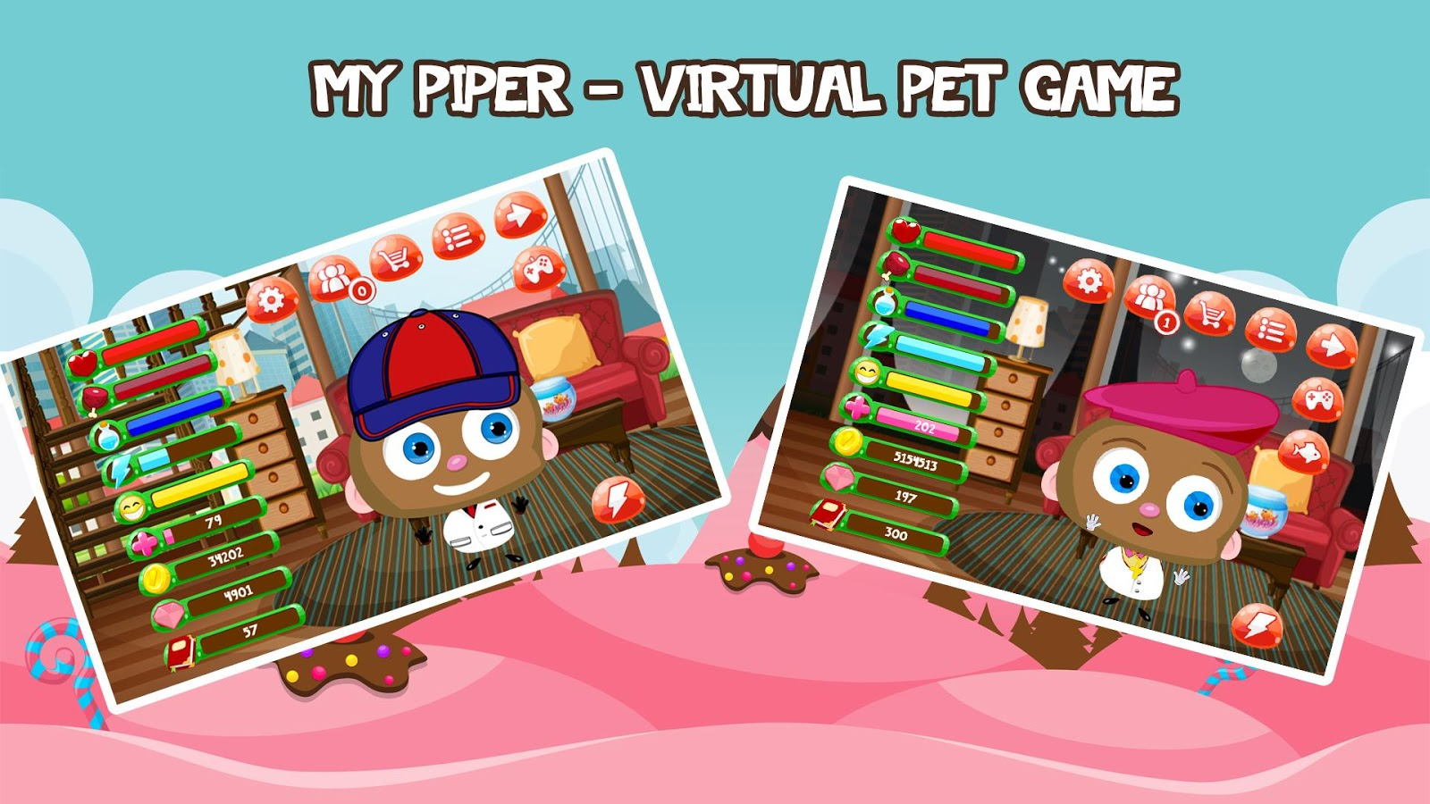 My Piper - Virtual Pet- screenshot