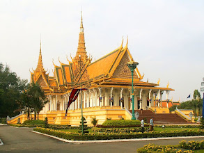 Photo: Phnom Penh - Pałac Królewski, Sala Tronowa / Royal Palace, Throne Hall