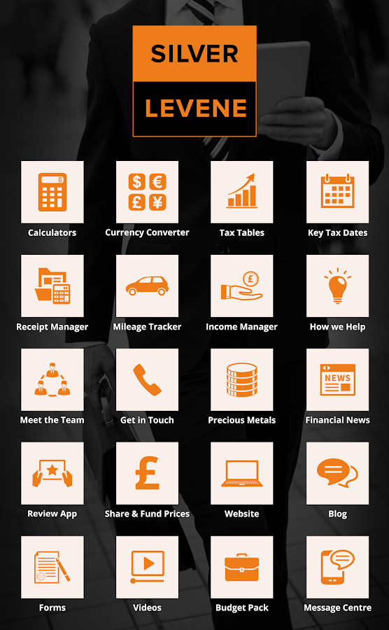 Silver Levene Accountants- screenshot