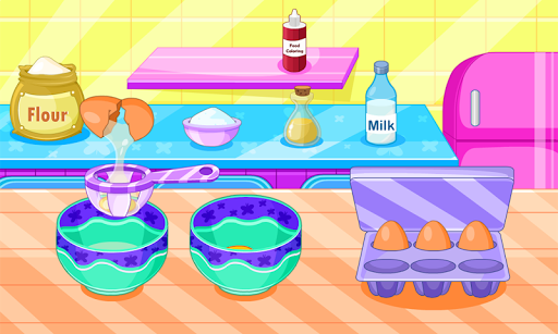 Butterfly muffins cooking game 1.0.1 screenshots 1