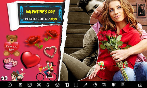 New Valentine Day Love Photo Editor - Love Frames screenshot 3