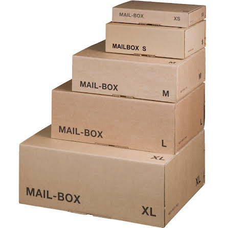 Mailbox L självlåsande