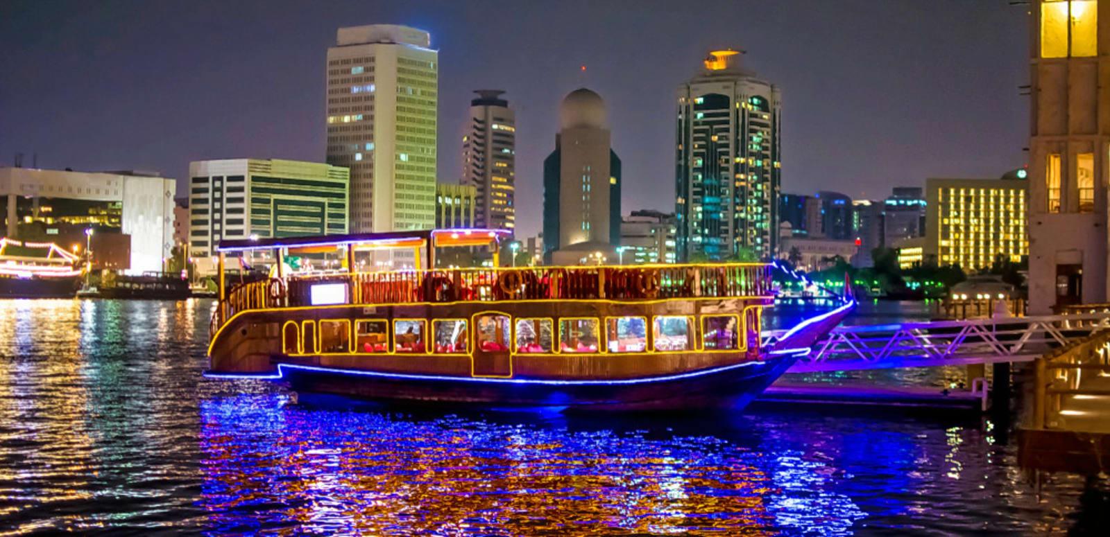 dubai city tour dhow cruise tour