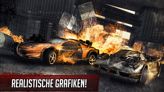 Death Race ® - Drive & Shoot Racing Cars Screenshot