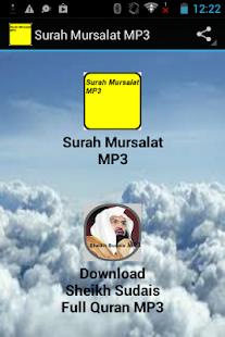 Surah Mursalat MP3 - náhled