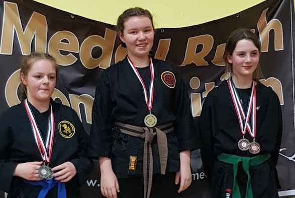 Four golds for Katie