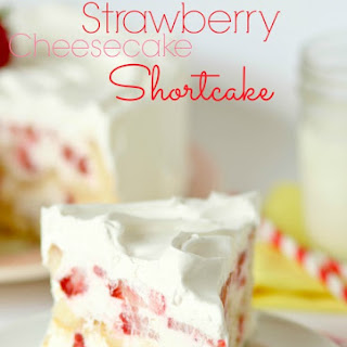 Twinkie Strawberry Cheesecake Shortcake