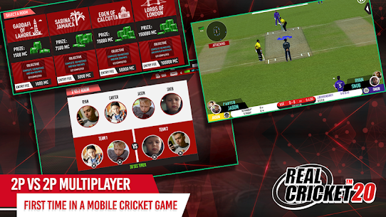 Real Cricket 20 MOD APK (All Unclocked) 2