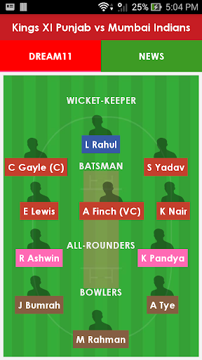 Dream11 Team Prediction 1.0 screenshots 3