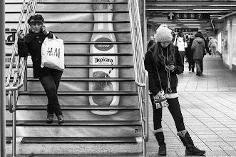 Photo: no pulp new york city subway january 5, 2013 www.leannestaples.com #newyorkcityphotography  #blackandwhitephotography  #streetphotography  #streetpics  #shootthestreet
